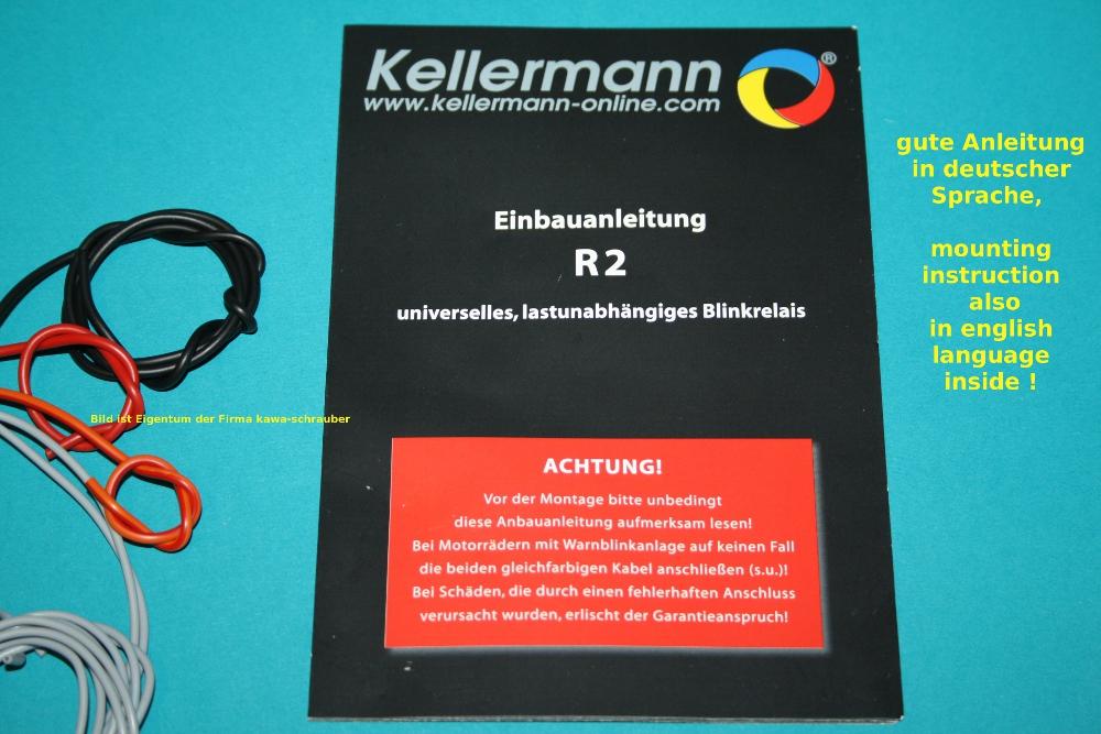 kellermann r2 universal led blinkrelais relais 10. Black Bedroom Furniture Sets. Home Design Ideas