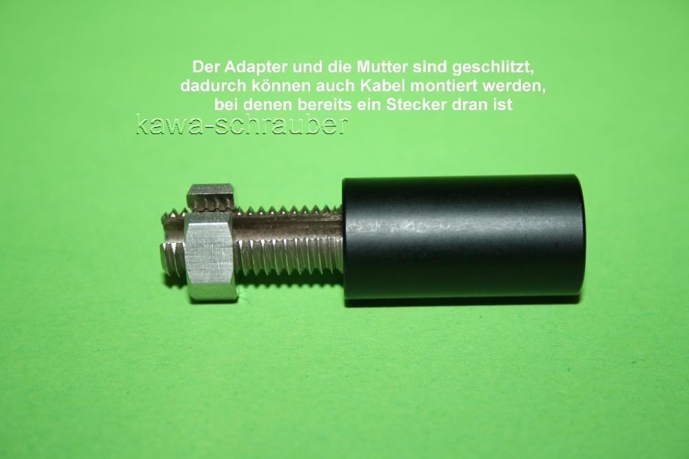 Paar HIGHSIDER Blinkerverlängerung 28 mm für M8 Blinker