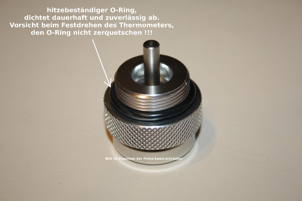Kawasaki Z400  K4  KZ400J Ölthermometer Direktmesser Öl Temperatur Anzeige neu